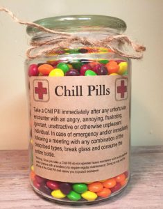 Happy Pills Chill Pills gift cadeau