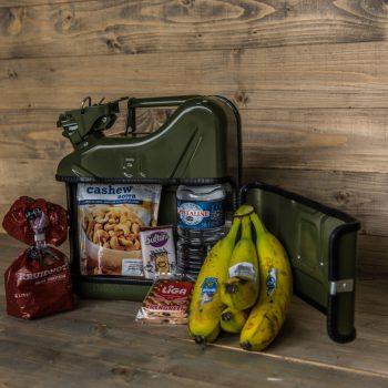 Broodtrommel voor mannen - Jerrycan Broodtrommel Mannenbox