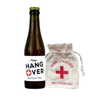 Hangover bier met hangover kit