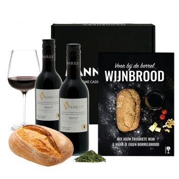 Wijnbrood giftset
