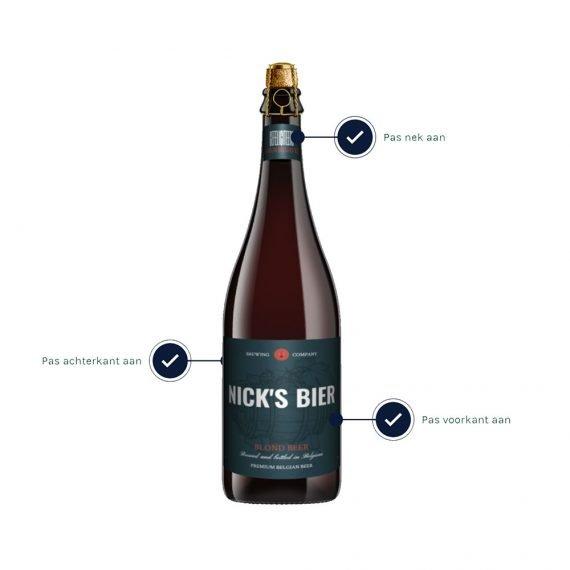 Bier met eigen etiket ontwerpen