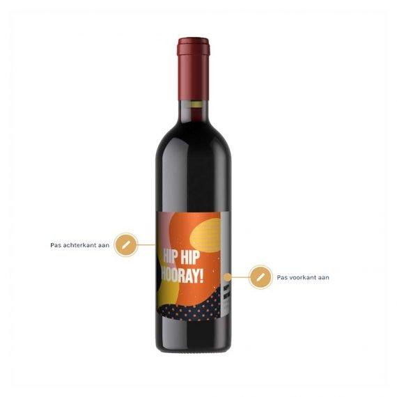 Wijn met eigen etiket