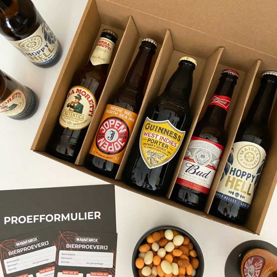 Smaaktest bierpakket