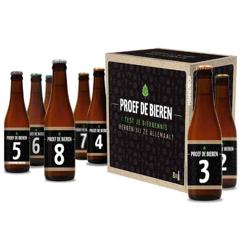 Blind bier proeven bierproeverij