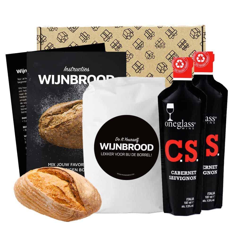 Wijnbrood-brievenbuspakket