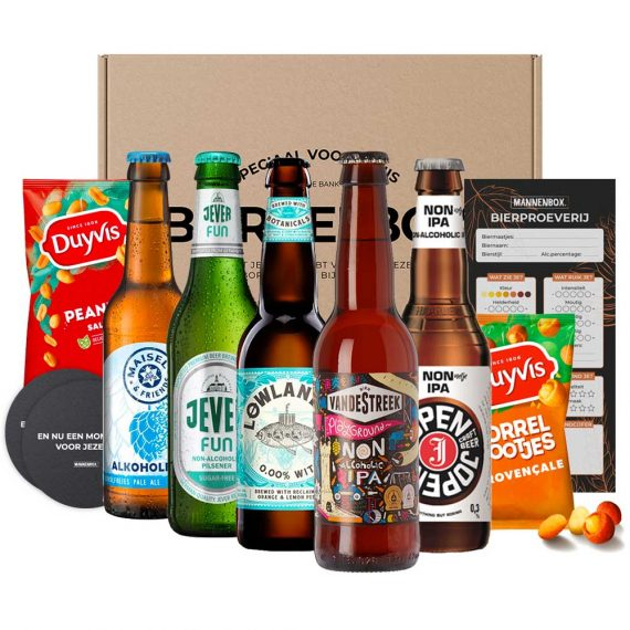 Alcoholvrij bierpakket cadeau