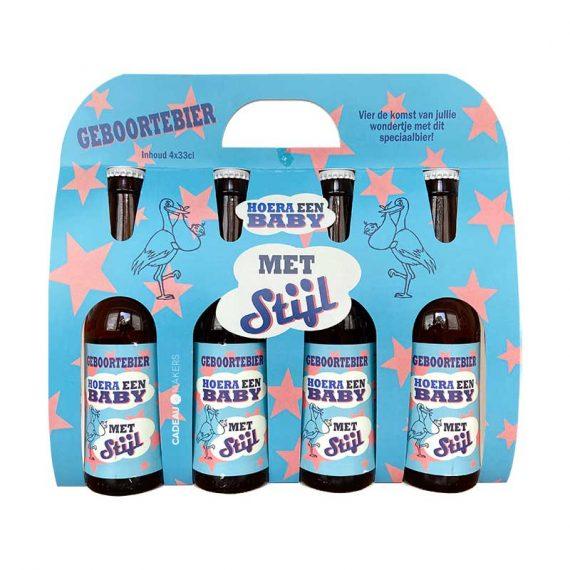 Kraamcadeau bierpakket geboorte