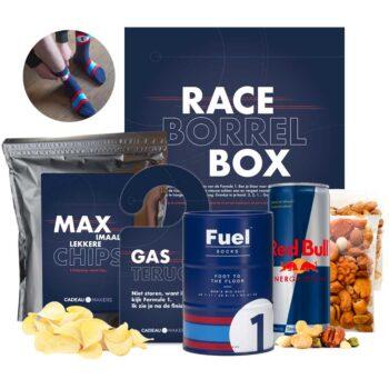 Race cadeau borrelbox tijdens Formule 1